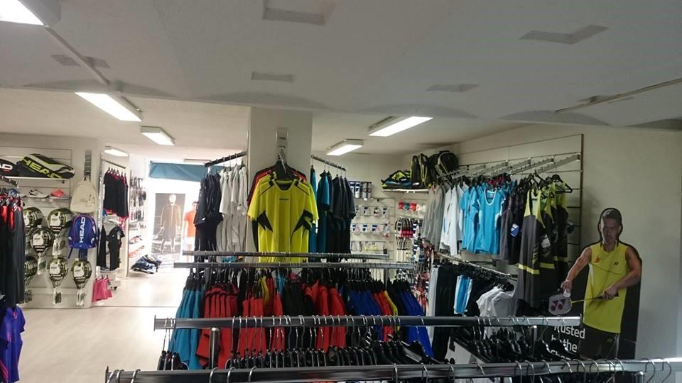 Aperçu dans le magasin de Larde Sports Beziers