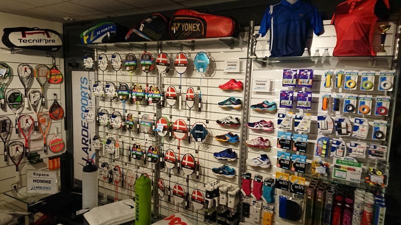 Aperçu dans le magasin de Larde Sports La Rochelle