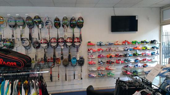 Aperçu dans le magasin de Larde Sports Lyon