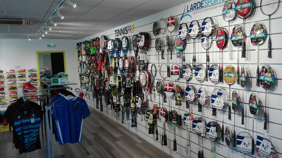 Aperçu dans le magasin de Larde Sports Mundolsheim