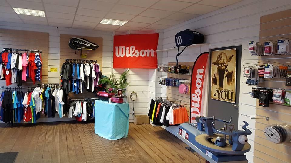 Aperçu dans le magasin de Larde Sports Angers